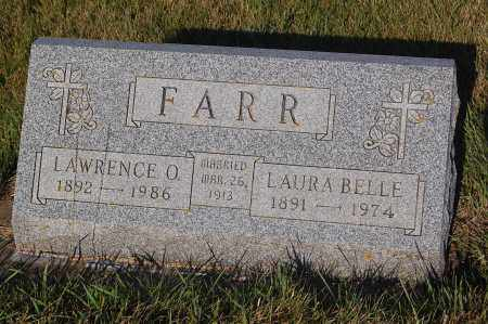 FARR, LAWRENCE O. - Minnehaha County, South Dakota | LAWRENCE O. FARR - South Dakota Gravestone Photos