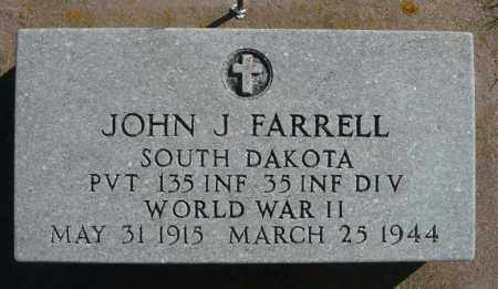 FARRELL, JOHN J. (WWII) - Minnehaha County, South Dakota | JOHN J. (WWII) FARRELL - South Dakota Gravestone Photos