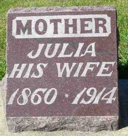 FARRELL, JULIA - Minnehaha County, South Dakota | JULIA FARRELL - South Dakota Gravestone Photos