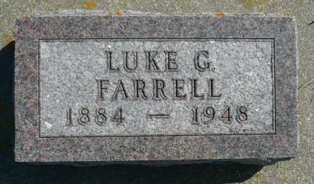 FARRELL, LUKE G. - Minnehaha County, South Dakota | LUKE G. FARRELL - South Dakota Gravestone Photos