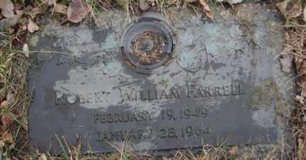 FARRELL, ROBERT WILLIAM - Minnehaha County, South Dakota | ROBERT WILLIAM FARRELL - South Dakota Gravestone Photos