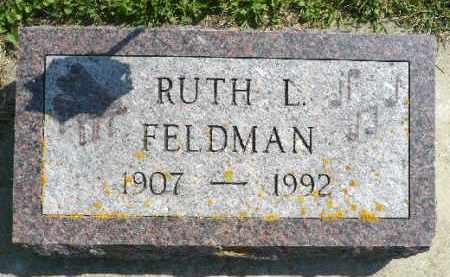 THOMPSON FELDMAN, RUTH L. - Minnehaha County, South Dakota | RUTH L. THOMPSON FELDMAN - South Dakota Gravestone Photos