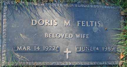 FELTIS, DORIS M. - Minnehaha County, South Dakota | DORIS M. FELTIS - South Dakota Gravestone Photos
