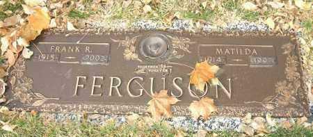 FERGUSON, FRANK R. - Minnehaha County, South Dakota   FRANK R. FERGUSON - South Dakota Gravestone Photos