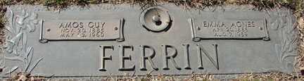 FERRIN, AMOS GUY - Minnehaha County, South Dakota   AMOS GUY FERRIN - South Dakota Gravestone Photos