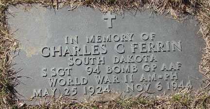 FERRIN, CHARLES C. - Minnehaha County, South Dakota | CHARLES C. FERRIN - South Dakota Gravestone Photos