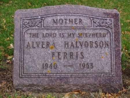 HALVORSON FERRIS, ALVERA - Minnehaha County, South Dakota | ALVERA HALVORSON FERRIS - South Dakota Gravestone Photos