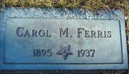 FERRIS, CAROL M. - Minnehaha County, South Dakota | CAROL M. FERRIS - South Dakota Gravestone Photos