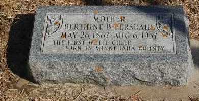 THOMPSON FERSDAHL, BERTHINE B. - Minnehaha County, South Dakota | BERTHINE B. THOMPSON FERSDAHL - South Dakota Gravestone Photos