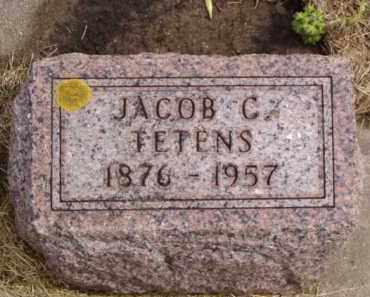 FETENS, JACOB C. - Minnehaha County, South Dakota | JACOB C. FETENS - South Dakota Gravestone Photos
