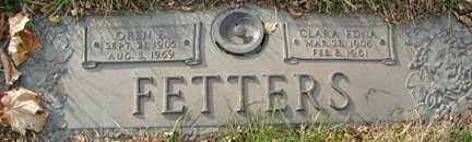 FETTERS, CLARA EDNA - Minnehaha County, South Dakota | CLARA EDNA FETTERS - South Dakota Gravestone Photos