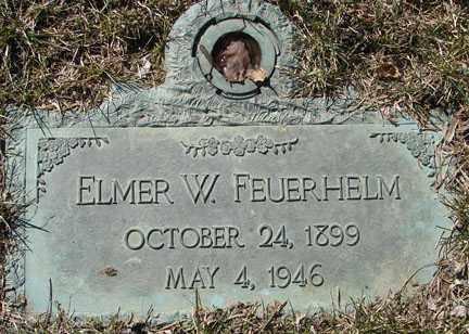 FEUERHELM, ELMER W. - Minnehaha County, South Dakota   ELMER W. FEUERHELM - South Dakota Gravestone Photos