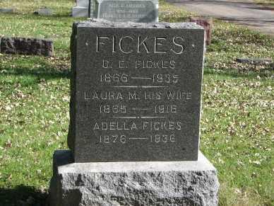 FICKES, FAMILY MARKER - Minnehaha County, South Dakota | FAMILY MARKER FICKES - South Dakota Gravestone Photos
