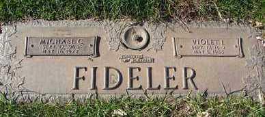 FIDELER, MICHAEL C. - Minnehaha County, South Dakota   MICHAEL C. FIDELER - South Dakota Gravestone Photos
