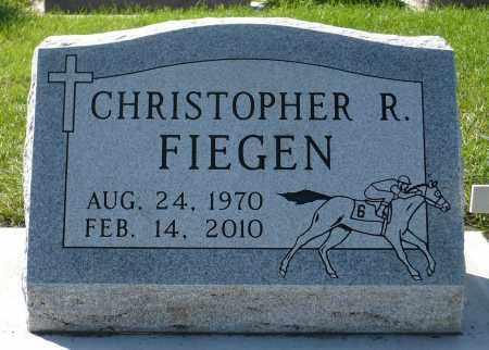 FIEGEN, CHRISTOPHER RAY - Minnehaha County, South Dakota   CHRISTOPHER RAY FIEGEN - South Dakota Gravestone Photos