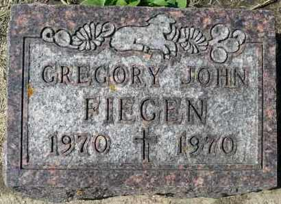 FIEGEN, GREGORY JOHN - Minnehaha County, South Dakota   GREGORY JOHN FIEGEN - South Dakota Gravestone Photos