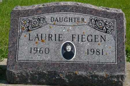 FIEGEN, LAURIE - Minnehaha County, South Dakota | LAURIE FIEGEN - South Dakota Gravestone Photos