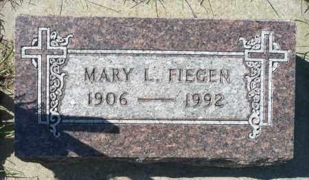 FIEGEN, MARY - Minnehaha County, South Dakota | MARY FIEGEN - South Dakota Gravestone Photos