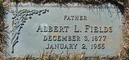 FIELDS, ALBERT L. - Minnehaha County, South Dakota | ALBERT L. FIELDS - South Dakota Gravestone Photos