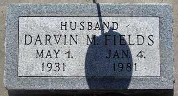 FIELDS, DARVIN M. - Minnehaha County, South Dakota   DARVIN M. FIELDS - South Dakota Gravestone Photos