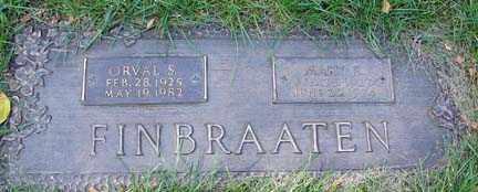 FINBRAATEN, MARY ELAINE - Minnehaha County, South Dakota | MARY ELAINE FINBRAATEN - South Dakota Gravestone Photos