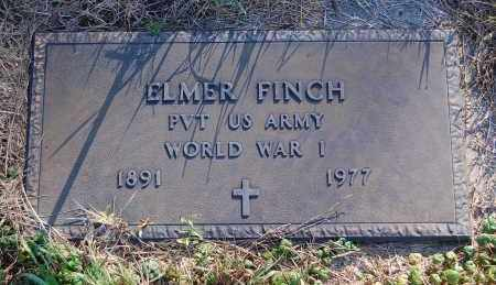 FINCH, ELMER - Minnehaha County, South Dakota | ELMER FINCH - South Dakota Gravestone Photos