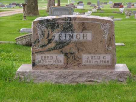 FINCH, LULU G. - Minnehaha County, South Dakota | LULU G. FINCH - South Dakota Gravestone Photos