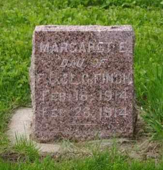 FINCH, MARGARET E. - Minnehaha County, South Dakota | MARGARET E. FINCH - South Dakota Gravestone Photos