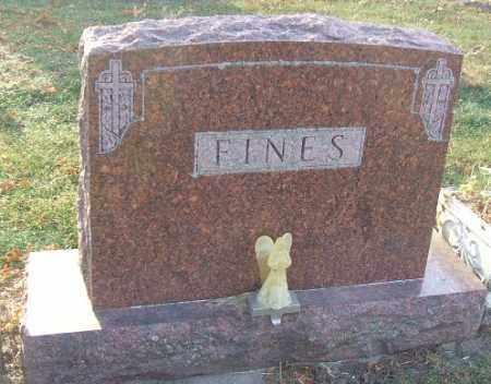 FINES, FAMILY STONE - Minnehaha County, South Dakota | FAMILY STONE FINES - South Dakota Gravestone Photos