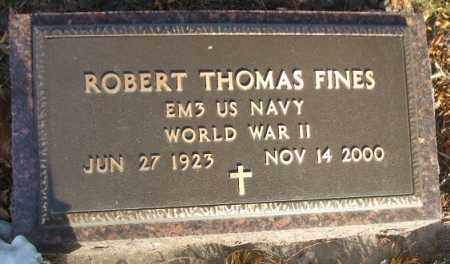 FINES, ROBERT THOMAS (WWII) - Minnehaha County, South Dakota | ROBERT THOMAS (WWII) FINES - South Dakota Gravestone Photos
