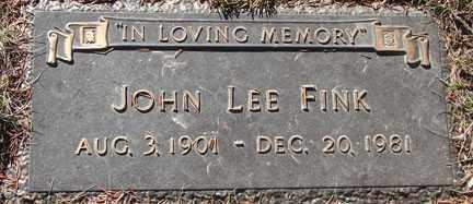 FINK, JOHN LEE - Minnehaha County, South Dakota | JOHN LEE FINK - South Dakota Gravestone Photos