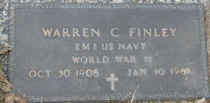 FINLEY, WARREN C. - Minnehaha County, South Dakota | WARREN C. FINLEY - South Dakota Gravestone Photos