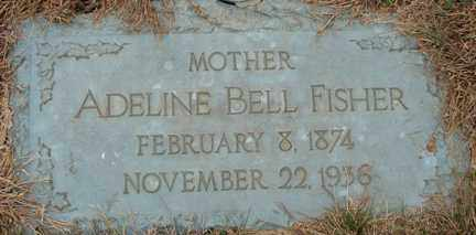 FISHER, ADELINE BELL - Minnehaha County, South Dakota | ADELINE BELL FISHER - South Dakota Gravestone Photos