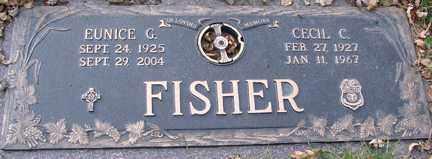 FISHER, EUNICE - Minnehaha County, South Dakota   EUNICE FISHER - South Dakota Gravestone Photos