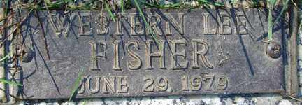 FISHER, WESTERN LEE - Minnehaha County, South Dakota | WESTERN LEE FISHER - South Dakota Gravestone Photos