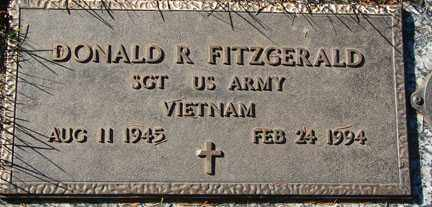 FITZGERALD, DONALD R. - Minnehaha County, South Dakota | DONALD R. FITZGERALD - South Dakota Gravestone Photos