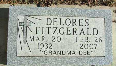 FITZGERALD, DELORES - Minnehaha County, South Dakota | DELORES FITZGERALD - South Dakota Gravestone Photos