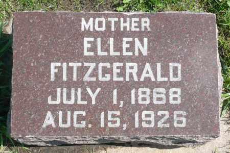 FITZGERALD, ELLEN - Minnehaha County, South Dakota | ELLEN FITZGERALD - South Dakota Gravestone Photos