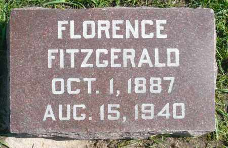 FITZGERALD, FLORENCE - Minnehaha County, South Dakota   FLORENCE FITZGERALD - South Dakota Gravestone Photos