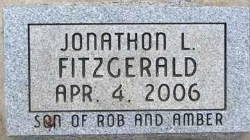 FITZGERALD, JONATHON L. - Minnehaha County, South Dakota | JONATHON L. FITZGERALD - South Dakota Gravestone Photos