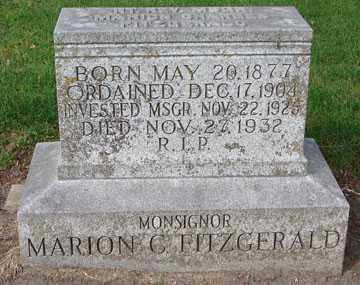 FITZGERALD, MARION C. - Minnehaha County, South Dakota | MARION C. FITZGERALD - South Dakota Gravestone Photos