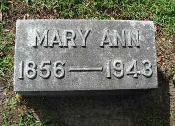 FITZGERALD, MARY ANN - Minnehaha County, South Dakota | MARY ANN FITZGERALD - South Dakota Gravestone Photos