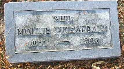 FITZGERALD, MOLLIE - Minnehaha County, South Dakota | MOLLIE FITZGERALD - South Dakota Gravestone Photos