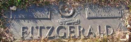 FITZGERALD, ROY - Minnehaha County, South Dakota | ROY FITZGERALD - South Dakota Gravestone Photos