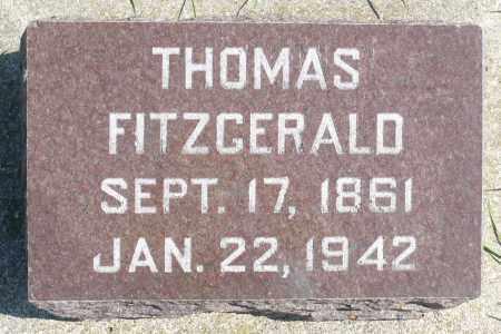 FITZGERALD, THOMAS - Minnehaha County, South Dakota | THOMAS FITZGERALD - South Dakota Gravestone Photos