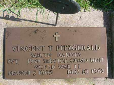 FITZGERALD, VINCENT T. (WWII) - Minnehaha County, South Dakota | VINCENT T. (WWII) FITZGERALD - South Dakota Gravestone Photos