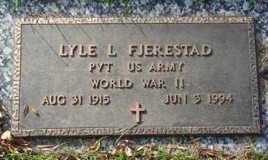 FJERESTAD, LYLE L. - Minnehaha County, South Dakota | LYLE L. FJERESTAD - South Dakota Gravestone Photos