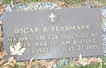 FLADMARK, OSCAR R. - Minnehaha County, South Dakota | OSCAR R. FLADMARK - South Dakota Gravestone Photos