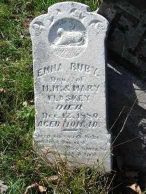 FLASKEY, EMMA RUBY - Minnehaha County, South Dakota | EMMA RUBY FLASKEY - South Dakota Gravestone Photos