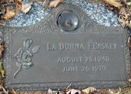 FLASKEY, LA DONNA - Minnehaha County, South Dakota   LA DONNA FLASKEY - South Dakota Gravestone Photos